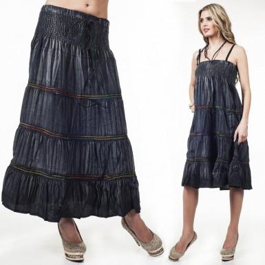 Как из юбки сделать платье ребенку