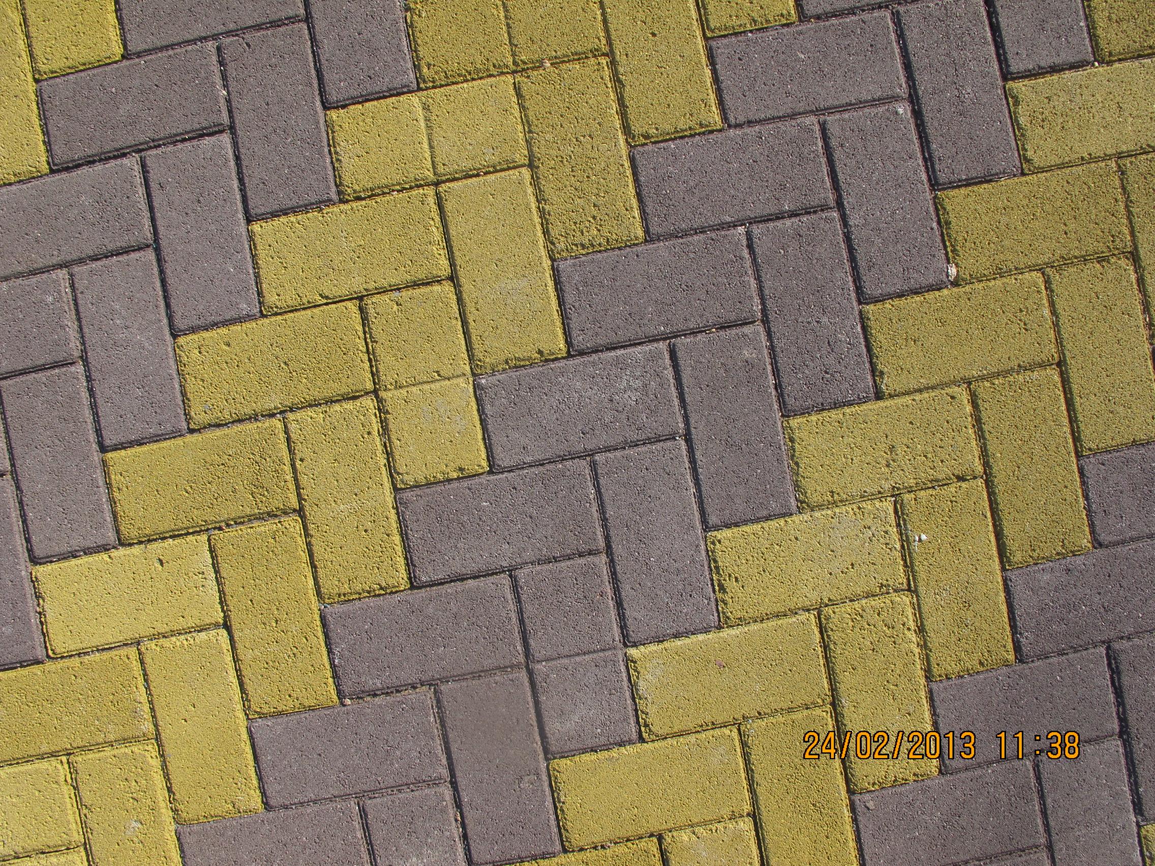 Тротуарная плитка красная желтая серая рисунки